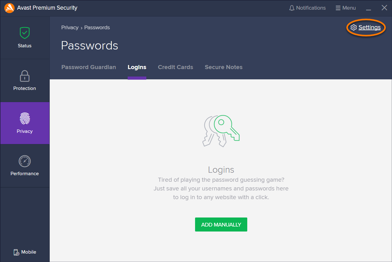Synchronizing Avast Passwords data across your devices | Official