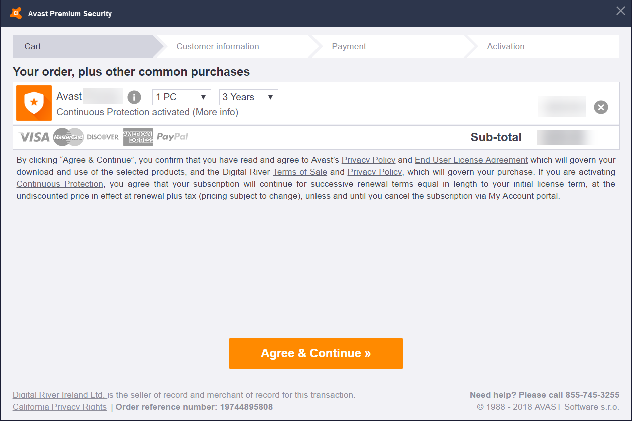 Managing your expired Avast Antivirus license | Official