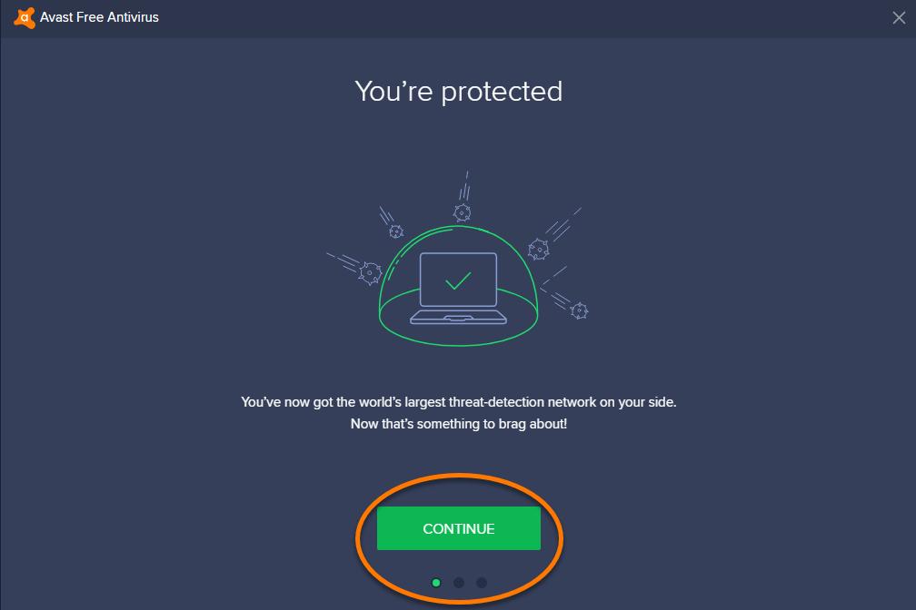 cài đặt Avast Free Antivirus - hình 5