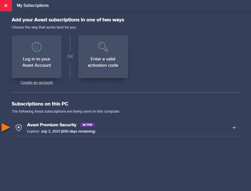 cual es la ultima version de avast free antivirus