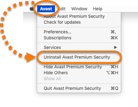 Uninstalling Avast Security from Mac | Official Avast Support