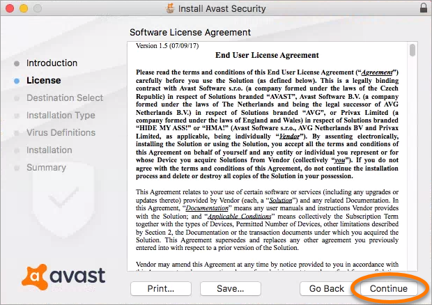avast antivirus gratis para macbook pro
