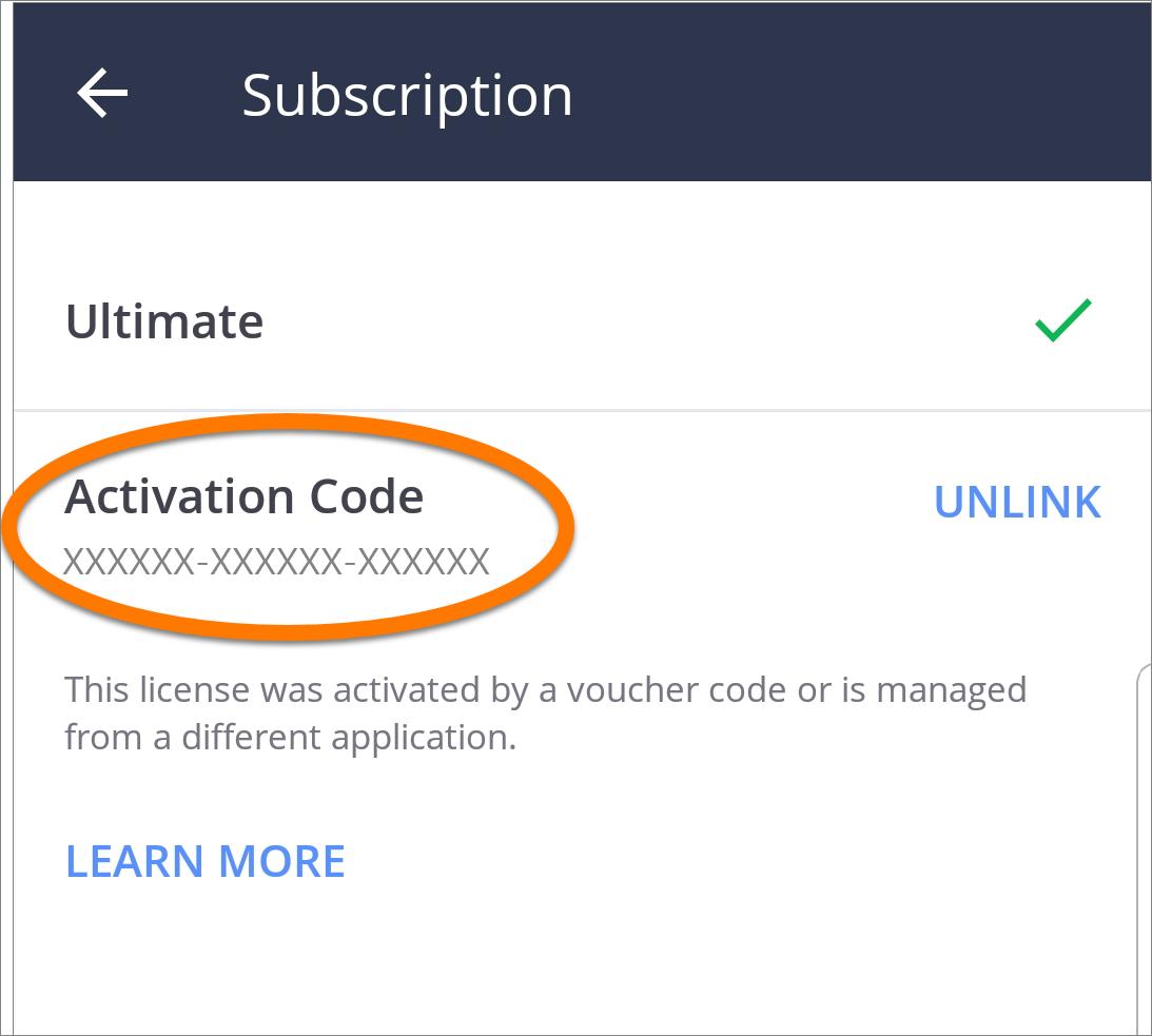 Voucher Code Avast