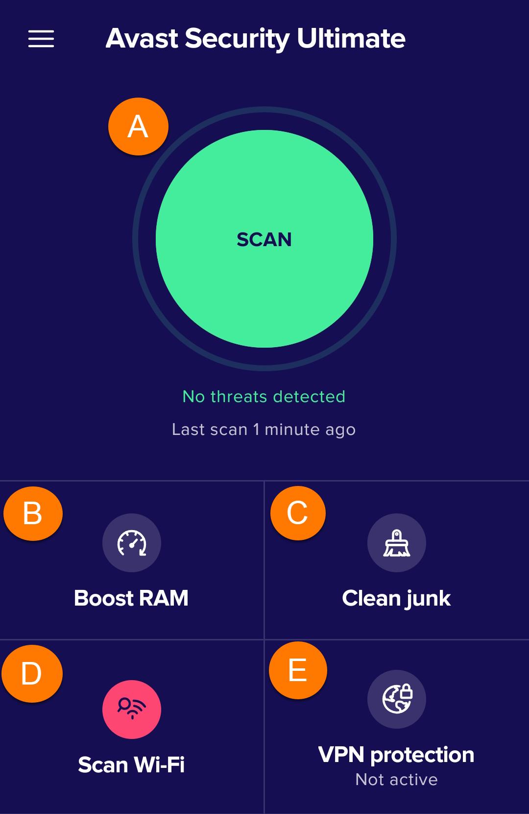 آنتی ویروس Avast اندروید