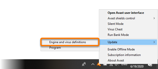 avast antivirus latest virus definitions free download