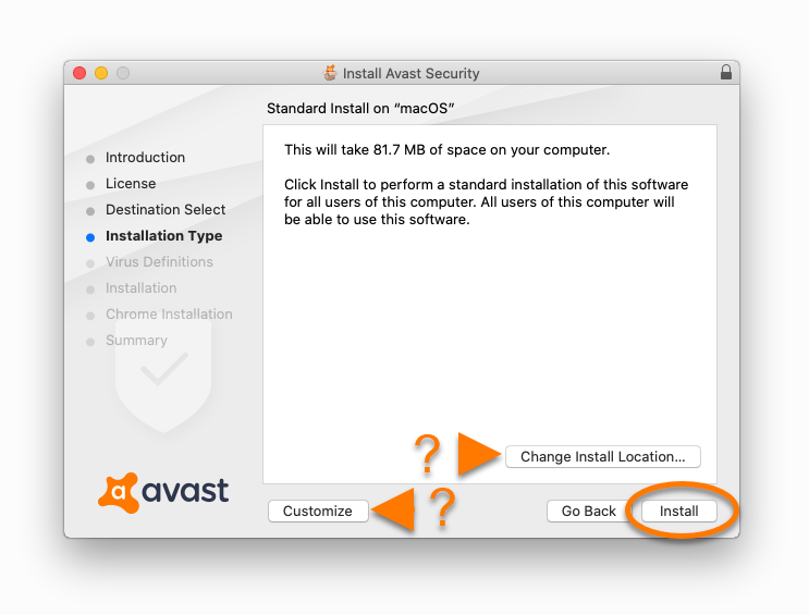 Avast Config File For Mac
