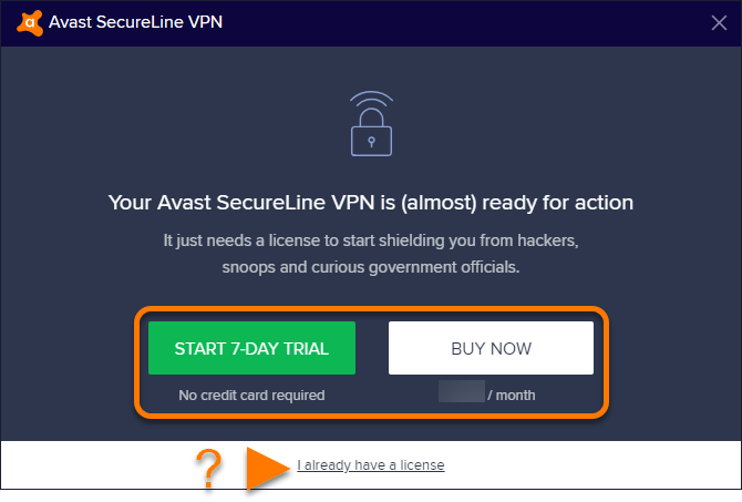 avast security line vpn free download