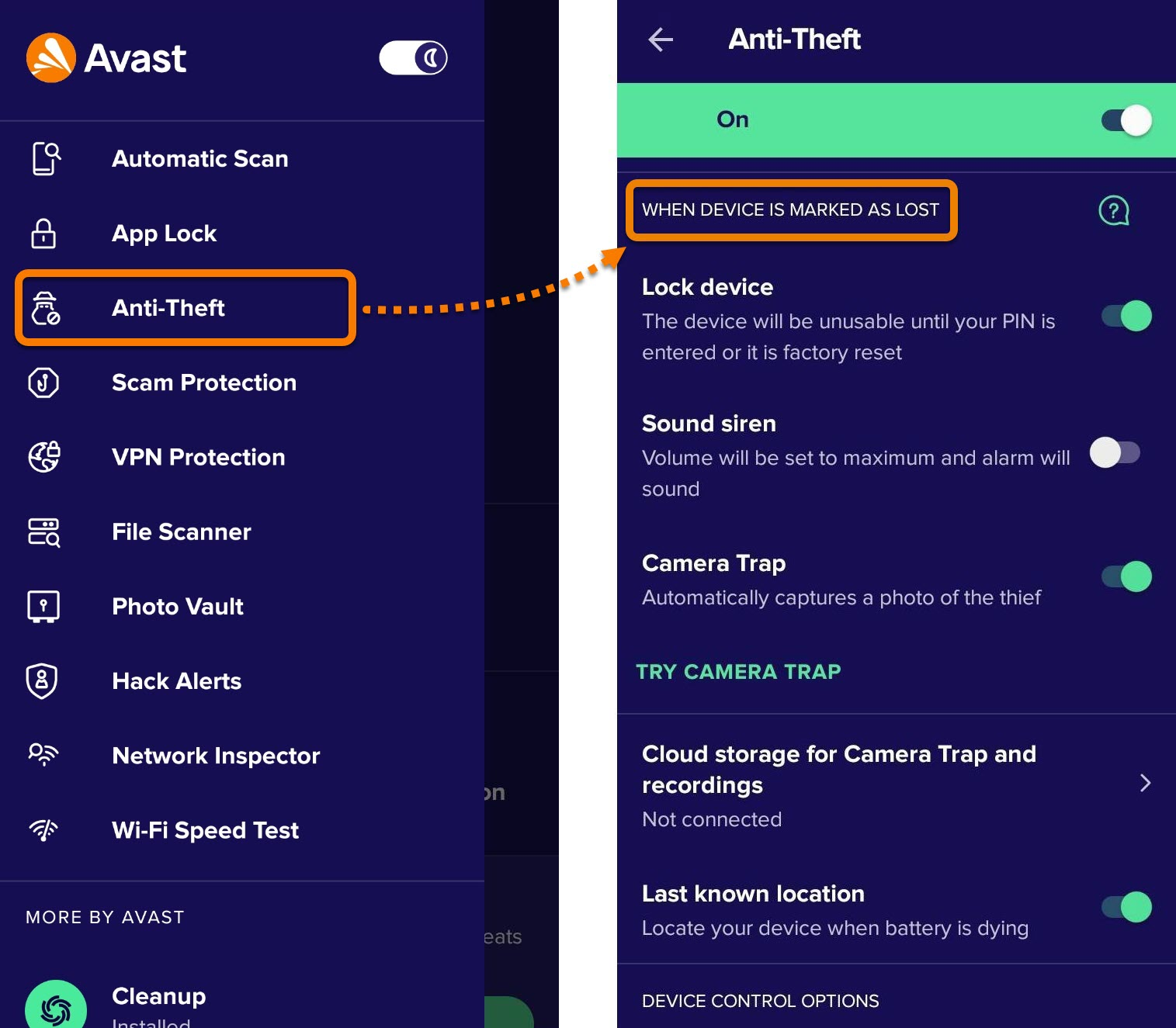 How to control a lost or stolen Android device remotely using Anti-Theft in Avast  Mobile Security   Avast